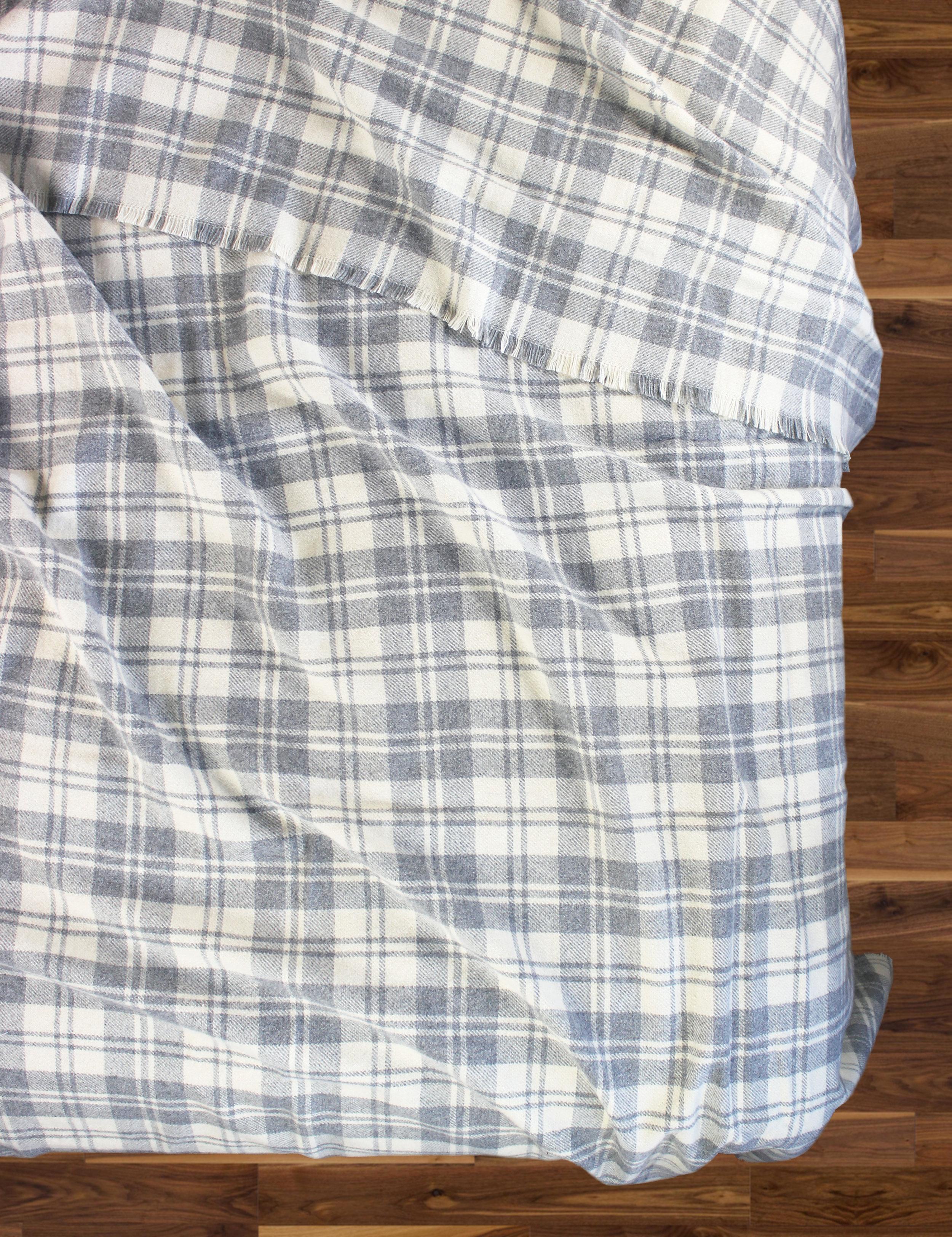 Granite Plaid Wool Blend Blanket_2.jpg