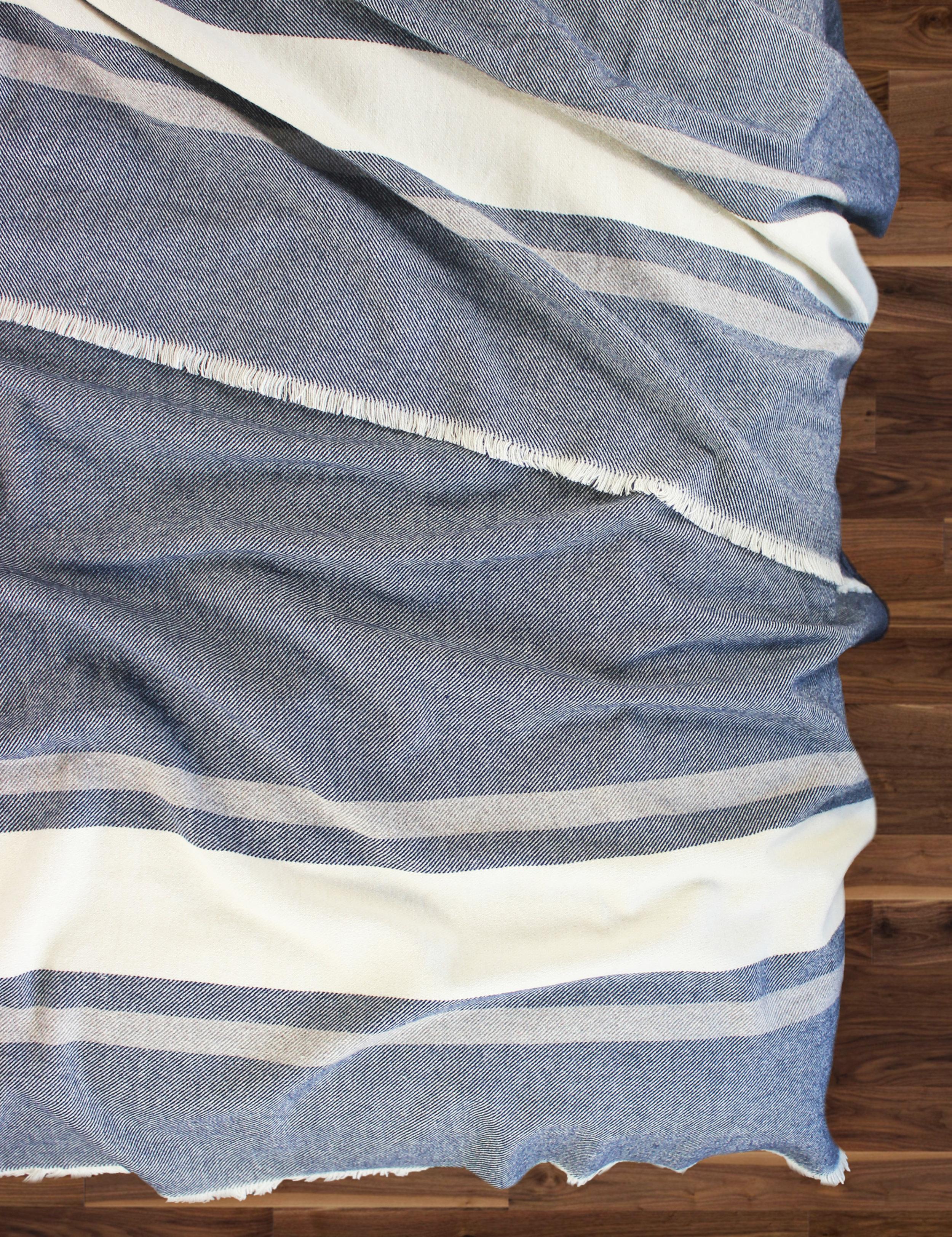 Woodland Stripe Wool Blend Blanket_2.jpg