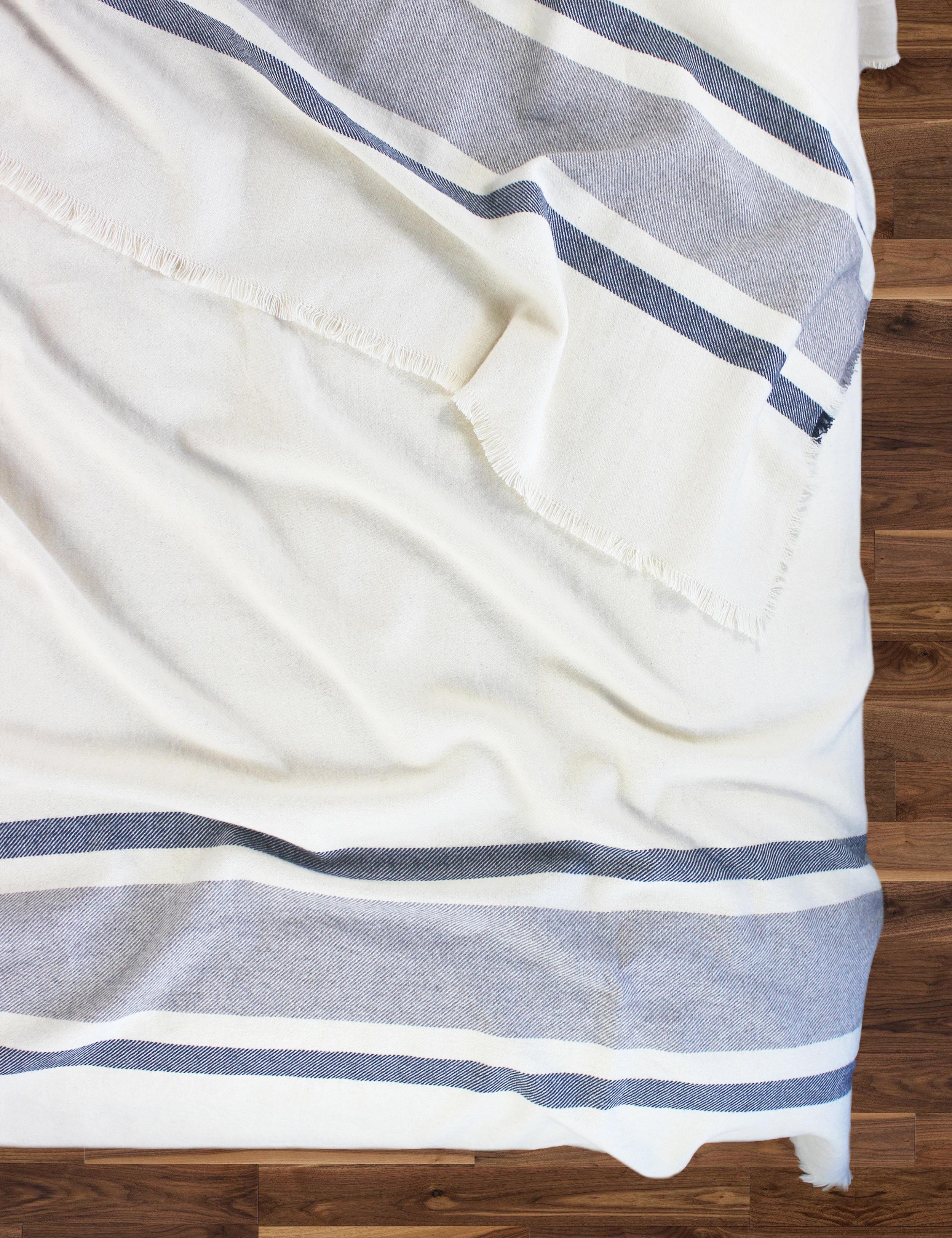 Woodland Stripe Wool Blend Blanket_Natural 2.jpg
