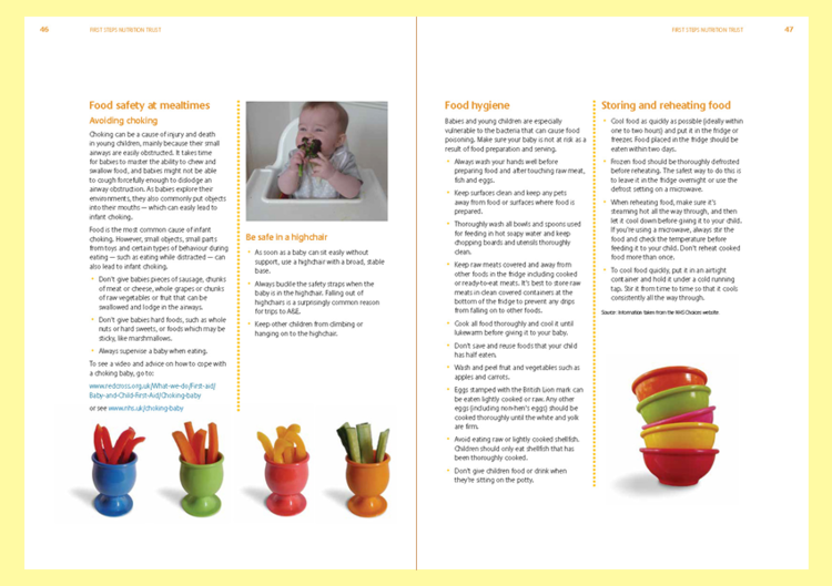 Infants & new mums — First Steps Nutrition Trust