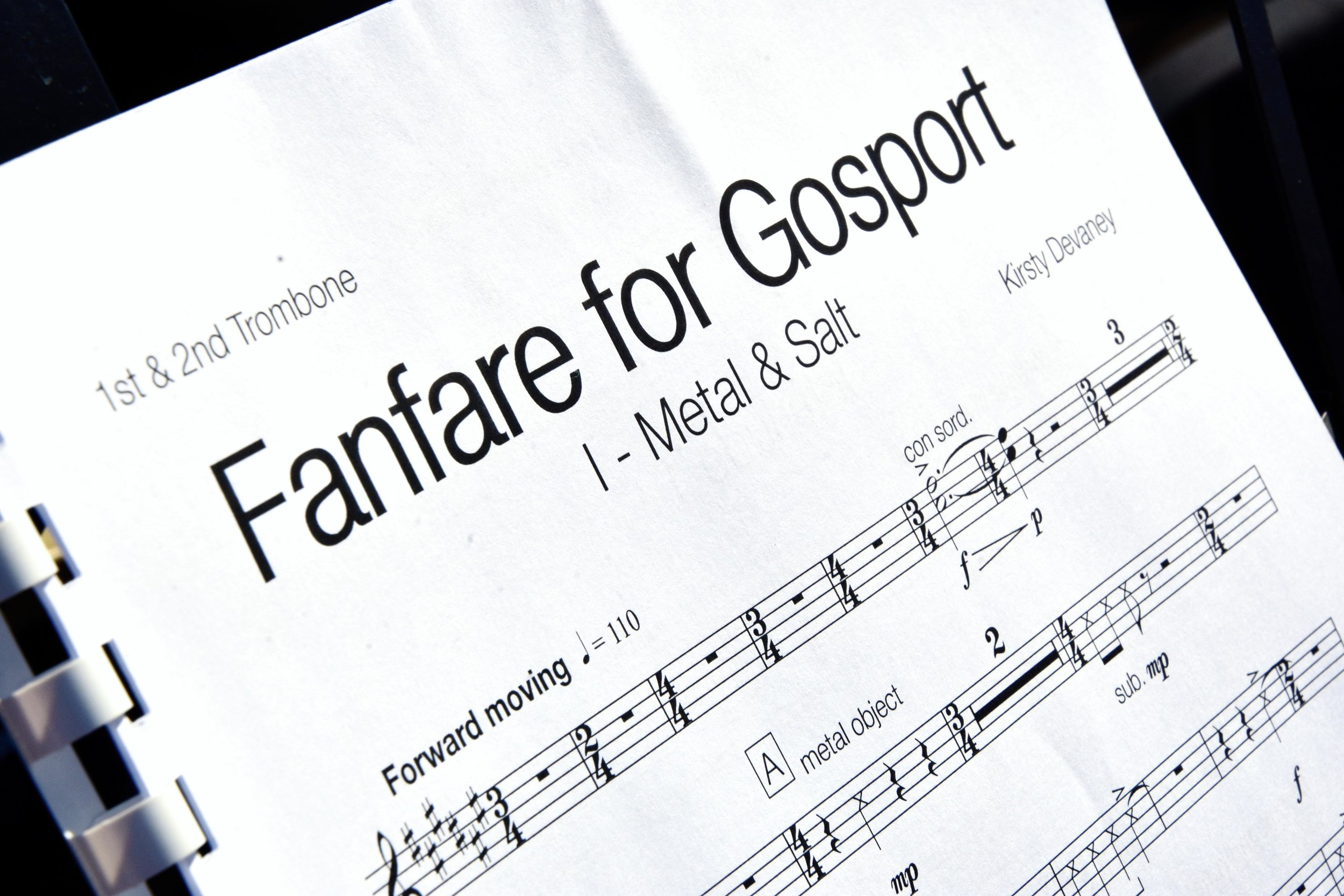 Fanfare for Gosport by Kirsty Devaney