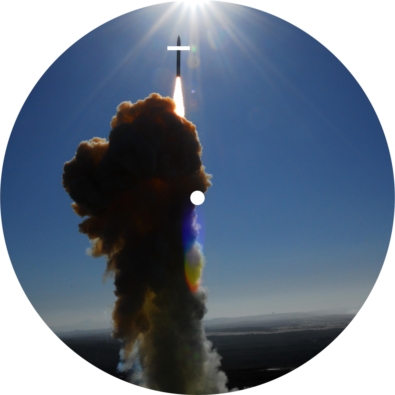 """Love Missile (7"""" vs 12"""") by Mark Dean, 2010 (film still)"""