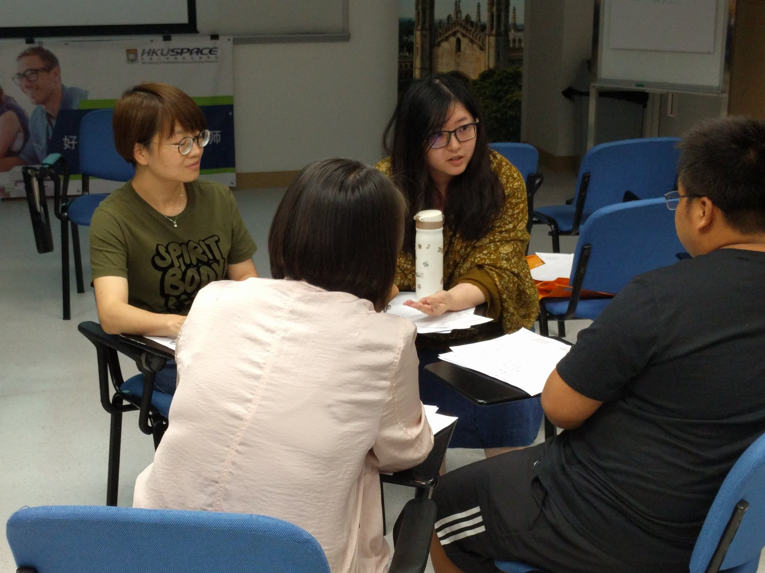 Working with Chinese secondary school teachers, Hong Kong 2017.