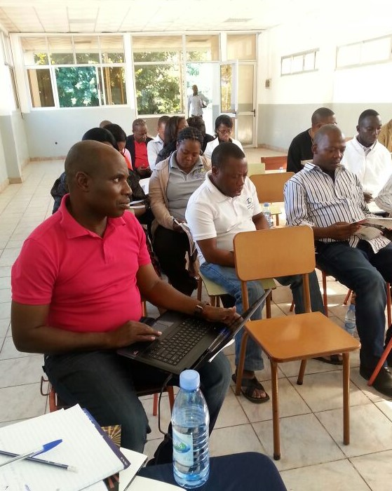 A short course for Mozambican teachers, Maputo 2014.