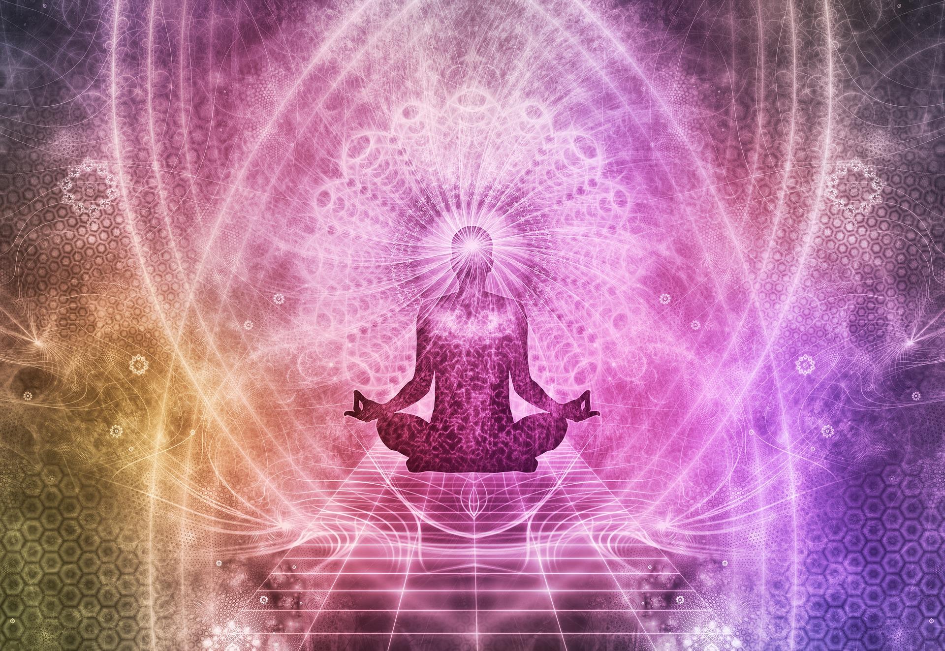 Feel the resonant, cosmic, potent, masculo/feminine, Gaia/Kwan Yin presence