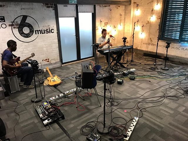 Live on @bbc6music with @laurenlaverne from midday today with @jrakz @opaudio_london @sheldonagwu @kershabailey @dionnereid TUNE IN to hear my bum notes