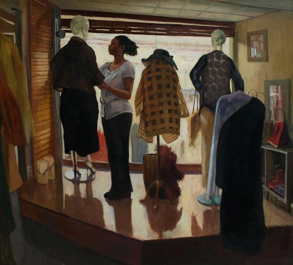 """""""Simone's Boutique""""- Frank Bruckmann"""