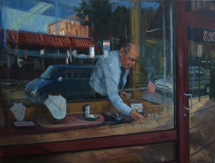 """Perecman Jewelers"" - Frank Bruckmann"