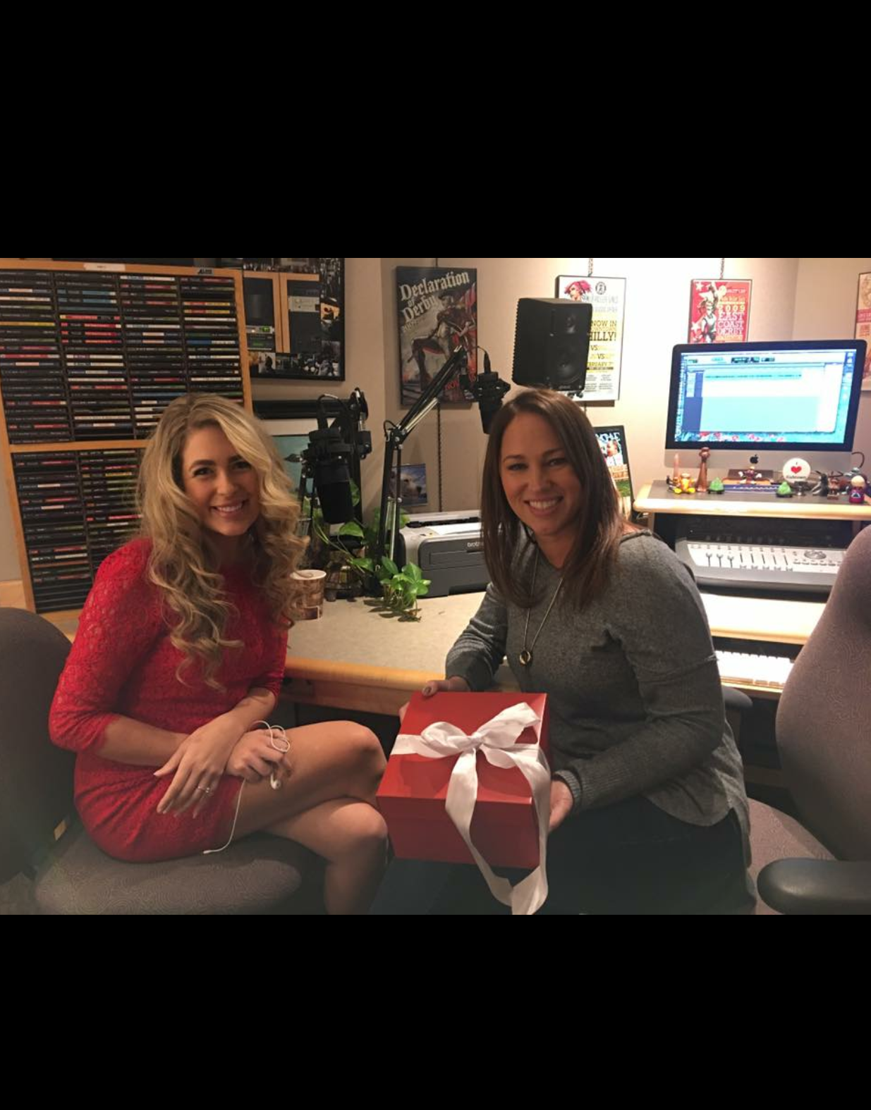 Dana and Kathy Romano - 95.7 BENFM Feature on HERSTORY