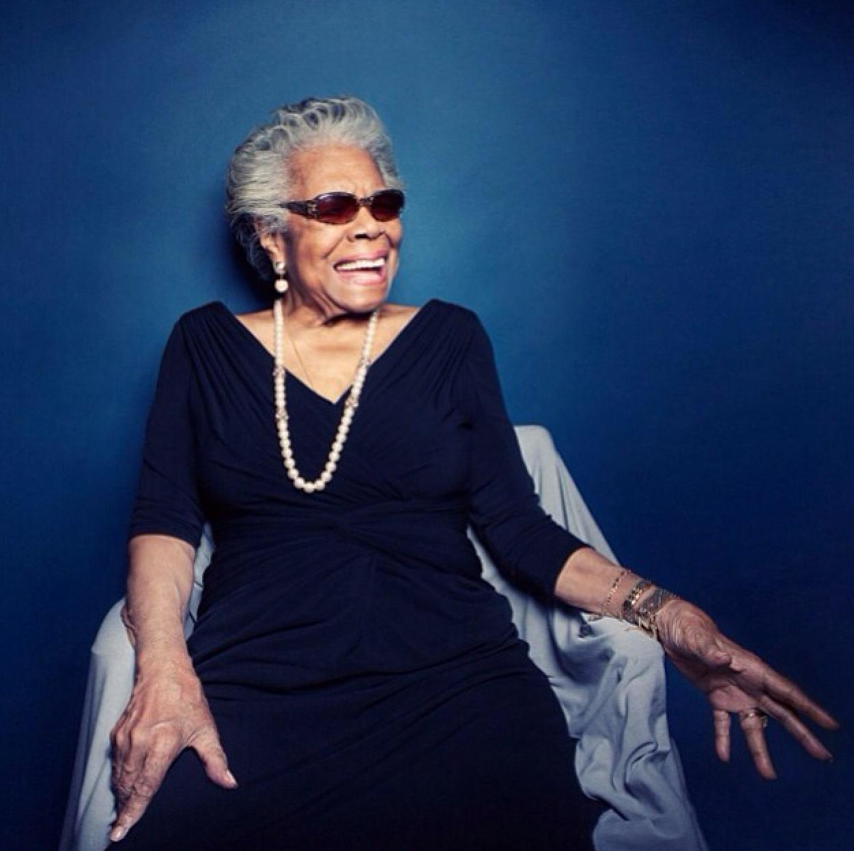Maya Angelou. Image credit: VOGUE