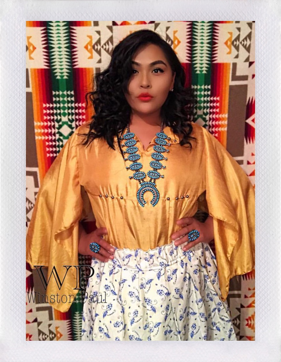 Calandra Etsitty - Winston Paul-Clothing Designer