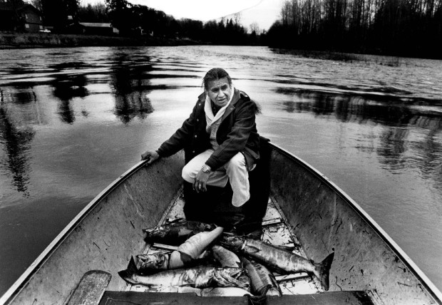 Billy Frank Jr., Nisqually elder. Photo credit Seattle Times