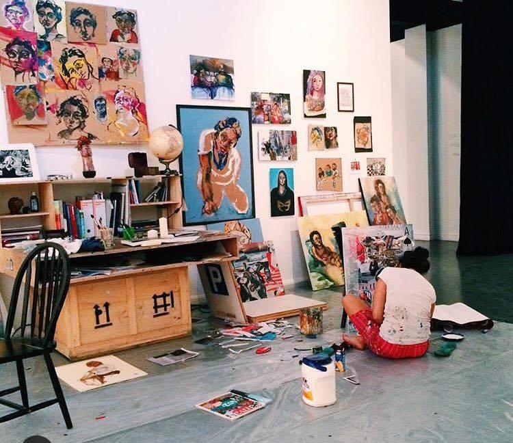 ART RADAR Emerging Syrian artist Noor Bahjat at Ayyam Gallery – in pictures - 2015-Article