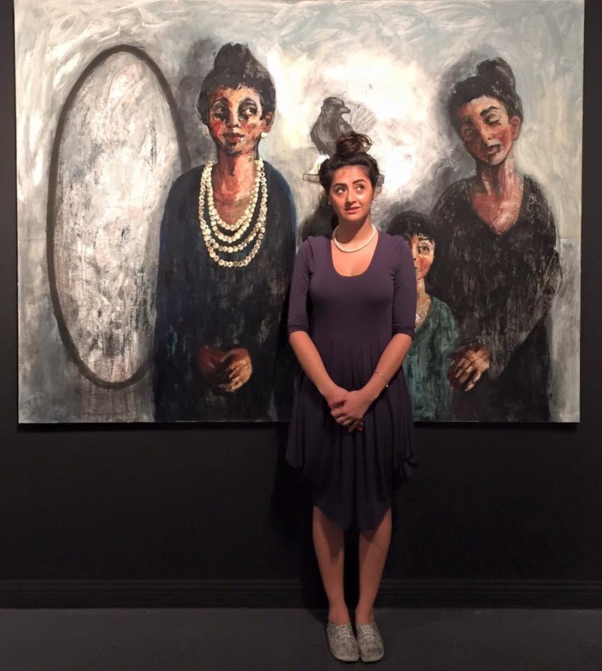 Art according to Noor Bahjat (studio visit from Lush) - 2017-Clip