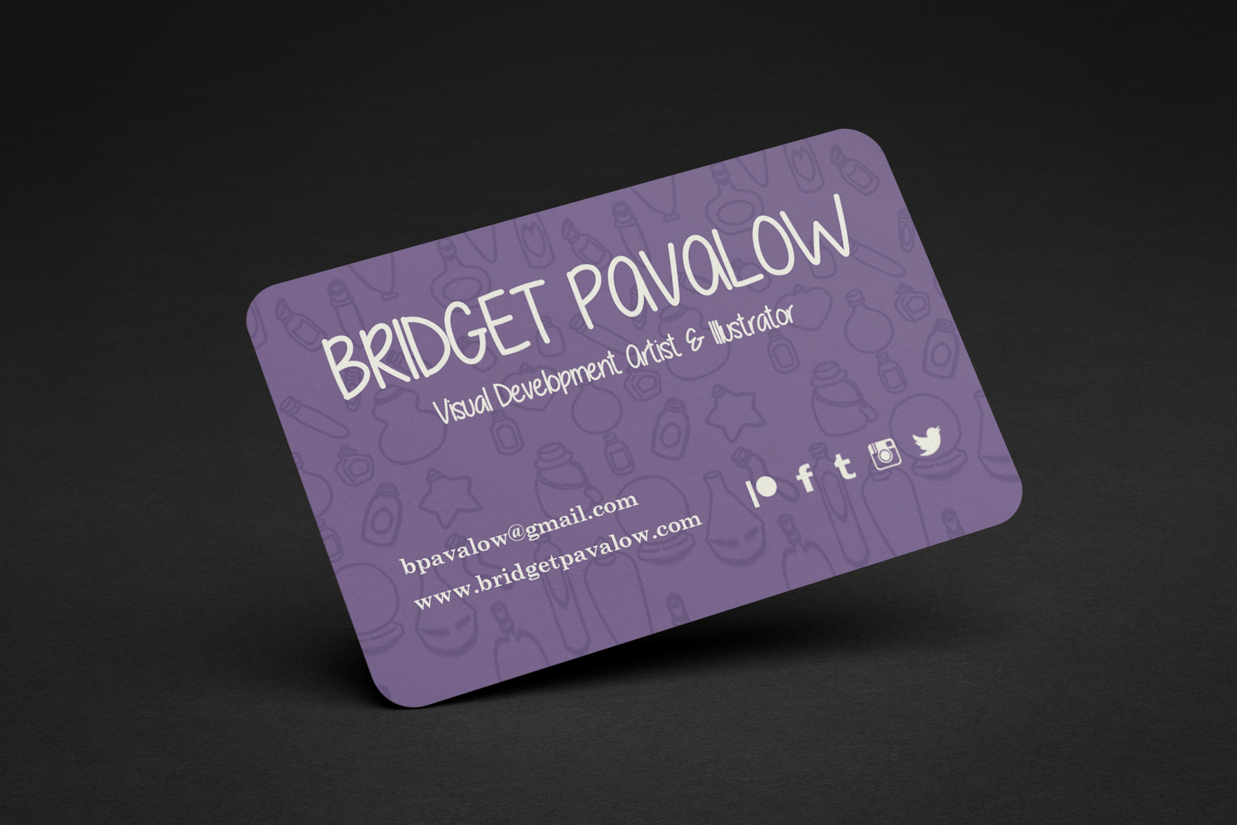 Business card design.  Mock up can be found  here .