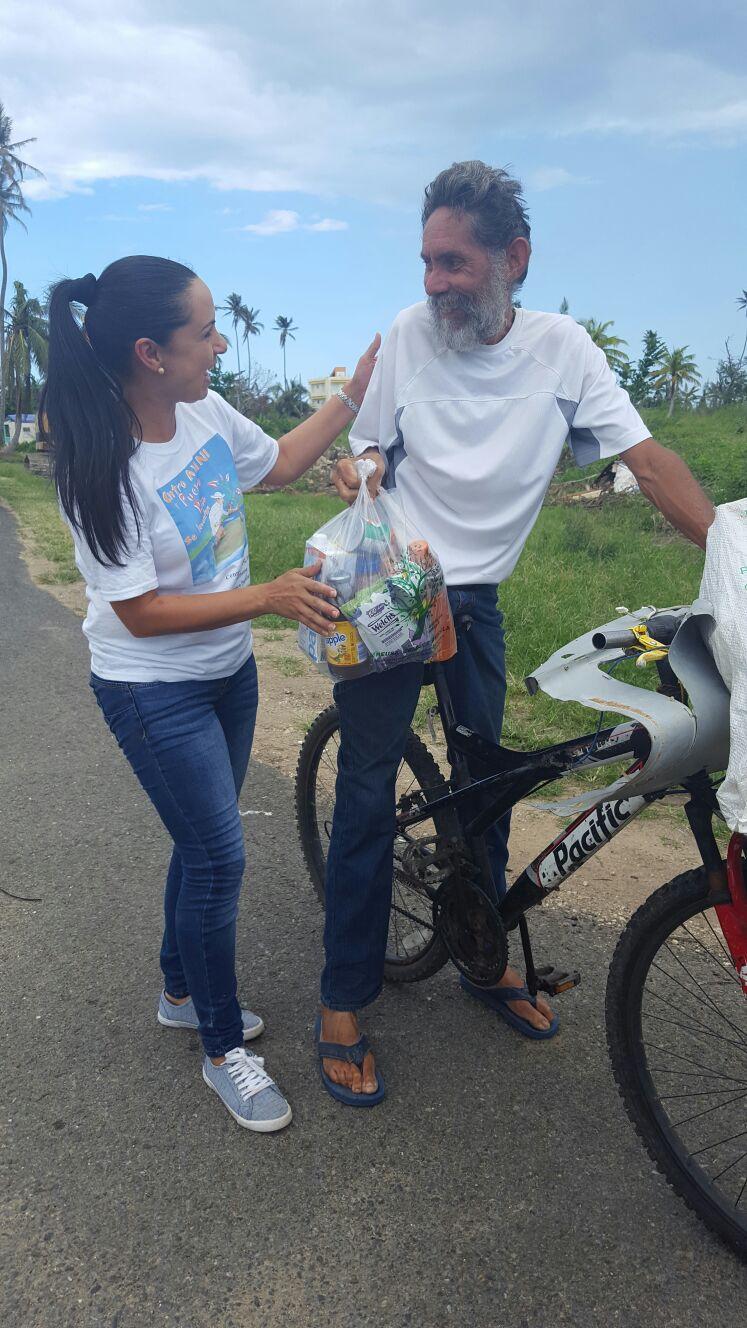 Distribution by Centro Yani in Moca, Aguada, Rincon and Añasco