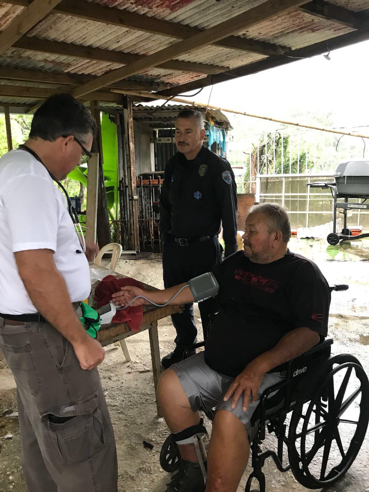 Medical mission to Ponce (La Carmelita, Guaraguao and Raices) with Mindu Futures