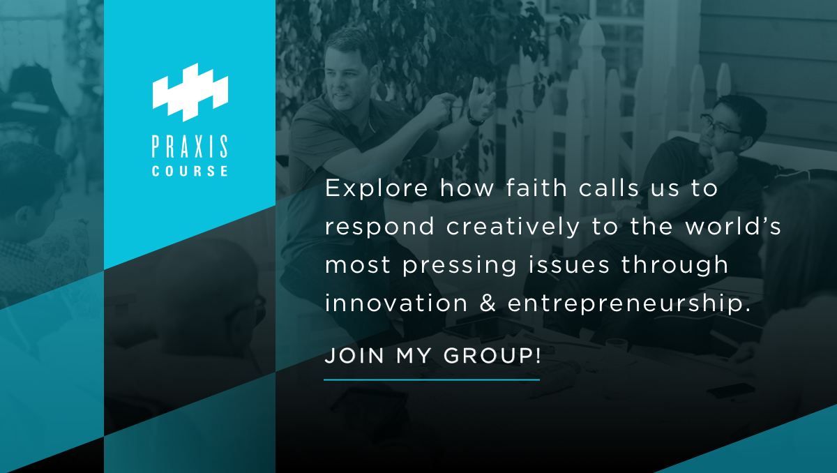 - Sample TweetJoin me in exploring how faith calls us to take redemptive action in the world as I lead a group through the Praxis Course, a 6-week video and discussion series. We're starting on [Date] at [Time]. Please DM if you're interested!Sample Facebook & Instagram postHow do we use our work to help us love God and others better? How do we leverage personal and organizational power for the sake of others, leading and growing ventures that join God in the renewal of all things, in all sectors? Join me in exploring how faith calls us to take redemptive action in the world as I lead a group through the Praxis Course, a 6-week video and discussion series. We're starting on [Date] at [Time]. Please comment or DM if you're interested!