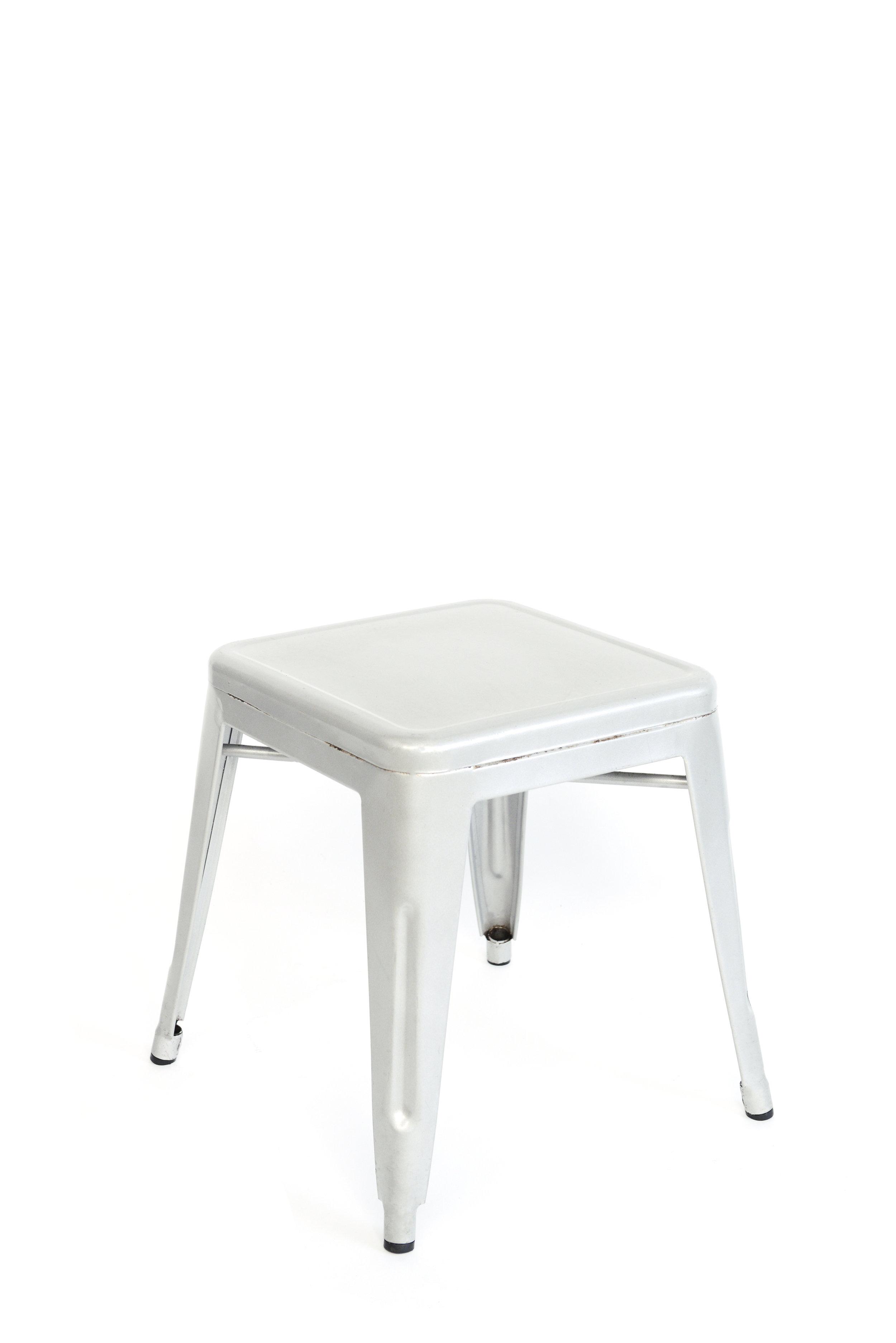 Silver stools qty. 2