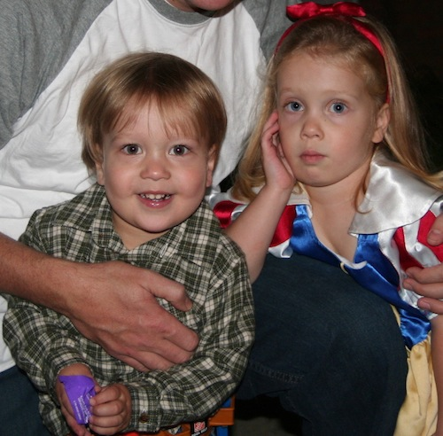 dad kids halloween