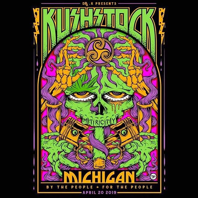 @kushstockmi  April 20th #autocityspeedway  FREE ADMISSION  ANYONE AGES 21+ can get in no paperwork needed just bring ID. Vendors and sponsors can be from any state. This one will be for the record books. Let's bring 10,000+ people to Michigan and stimulate the economy. Everyone is gonna have fun. Music from: Blue Felix Mitch Ryder And much much more. Art is life area Skaters paradise Glass on glass Ring of Fire We will be bringing it all to Michigan.  We will have a competition and vip experience with product bags. Www.kushstock.life/tickets