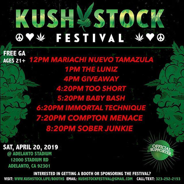Kushstock Festival 8   Nov 2, 2019