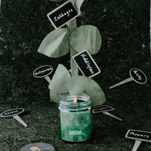 GREENS GREENS CANDLE - $20