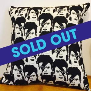 David Bowie pillow  - $20.55