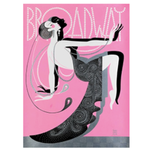 Broadway glamour print  - $8.99