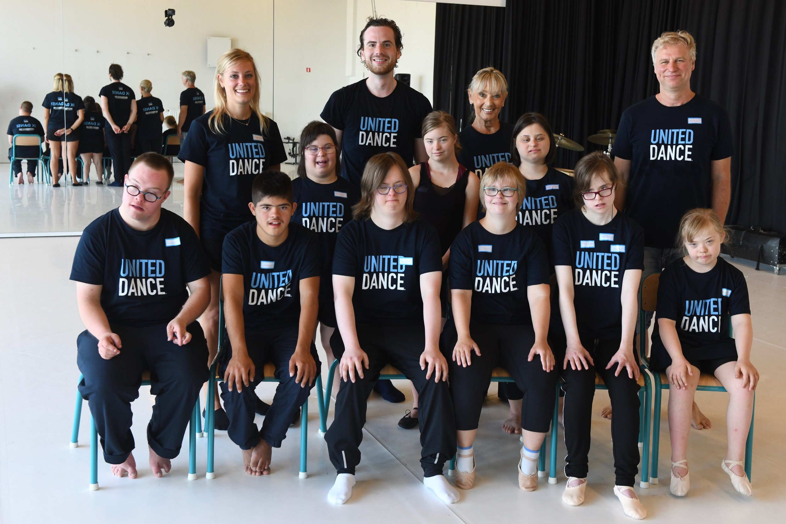 Participants and team, United Dance Summer course Antwerp 2018