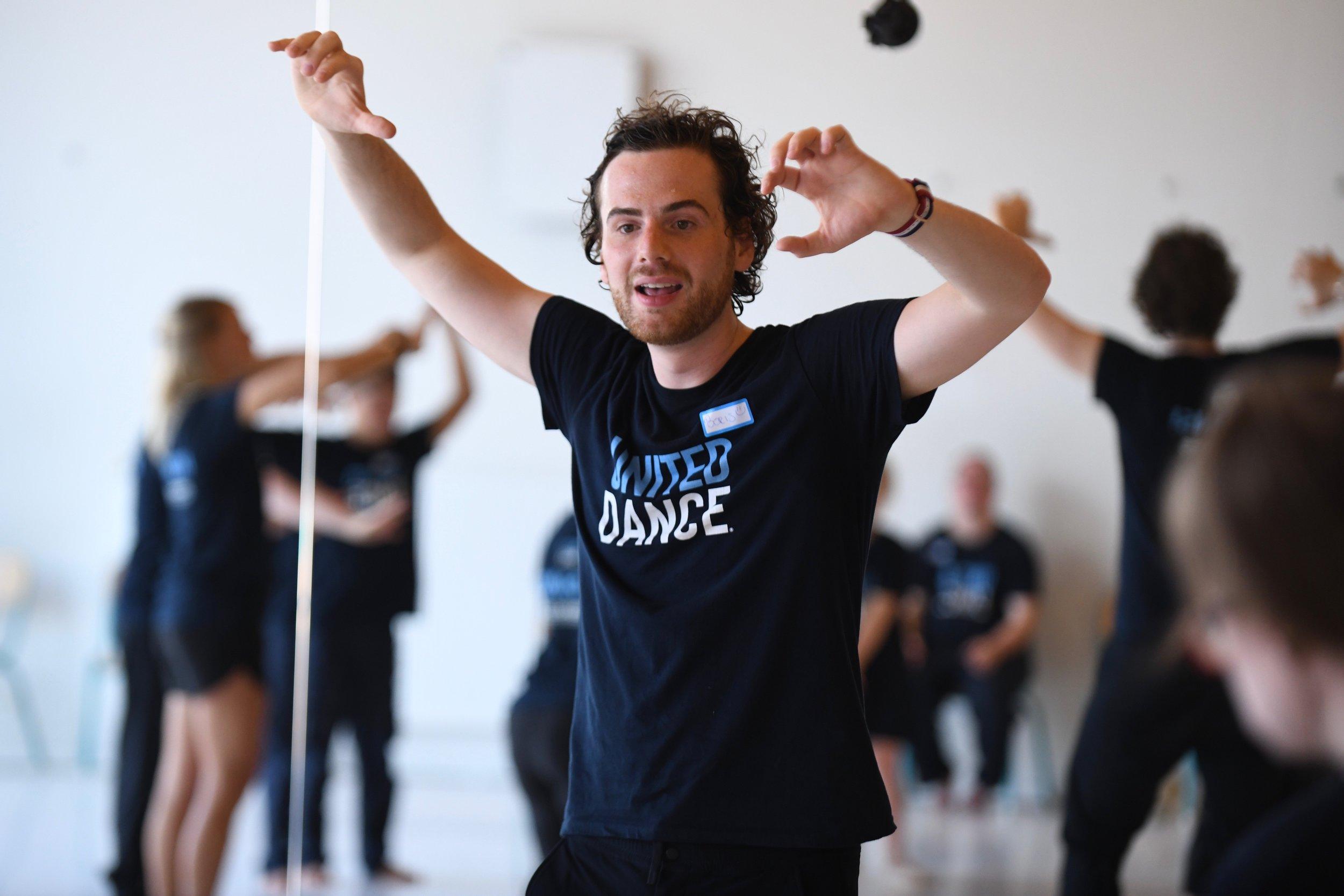 United Dance Teacher Boris Richir