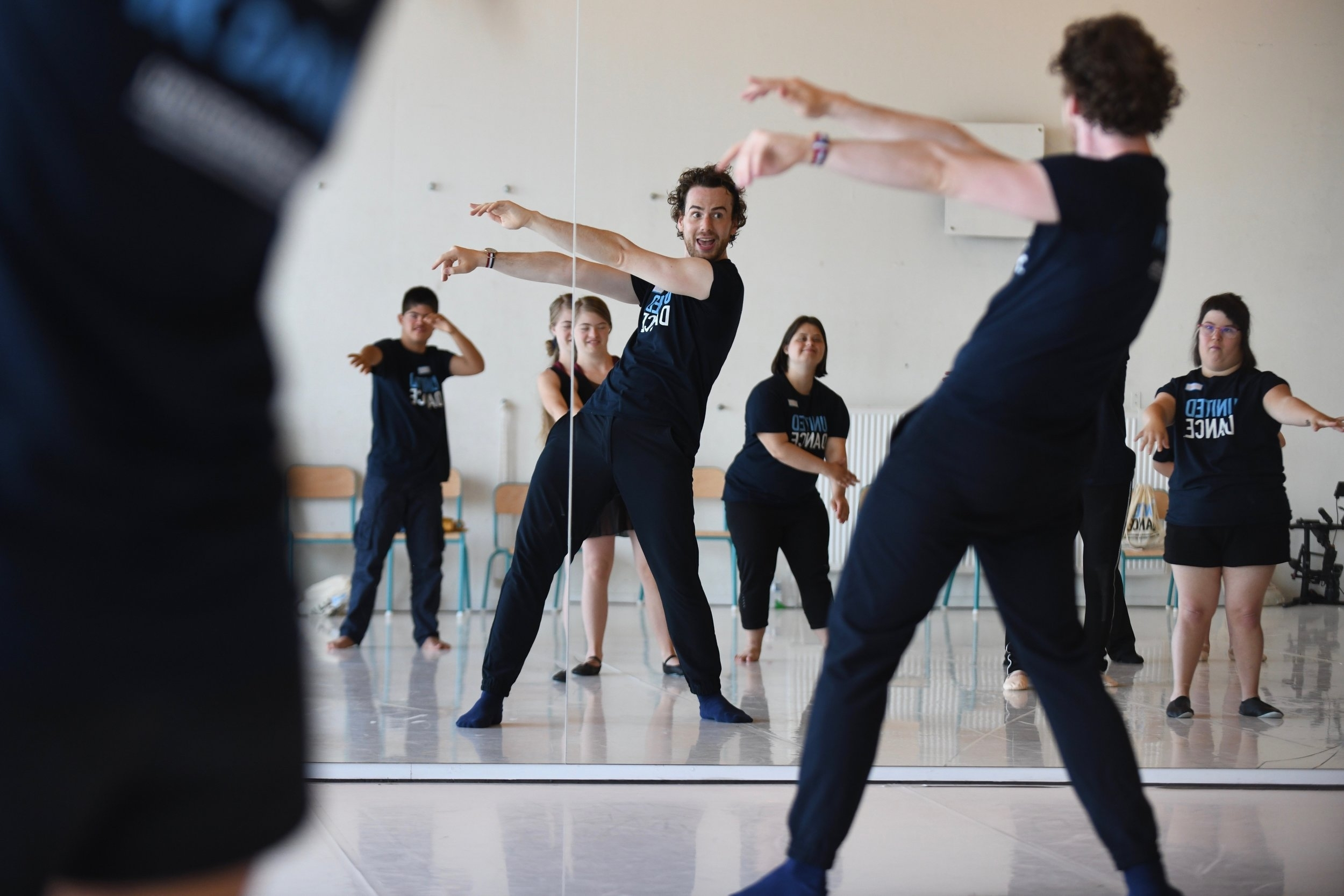 Boris Richir teaching a United Dance class