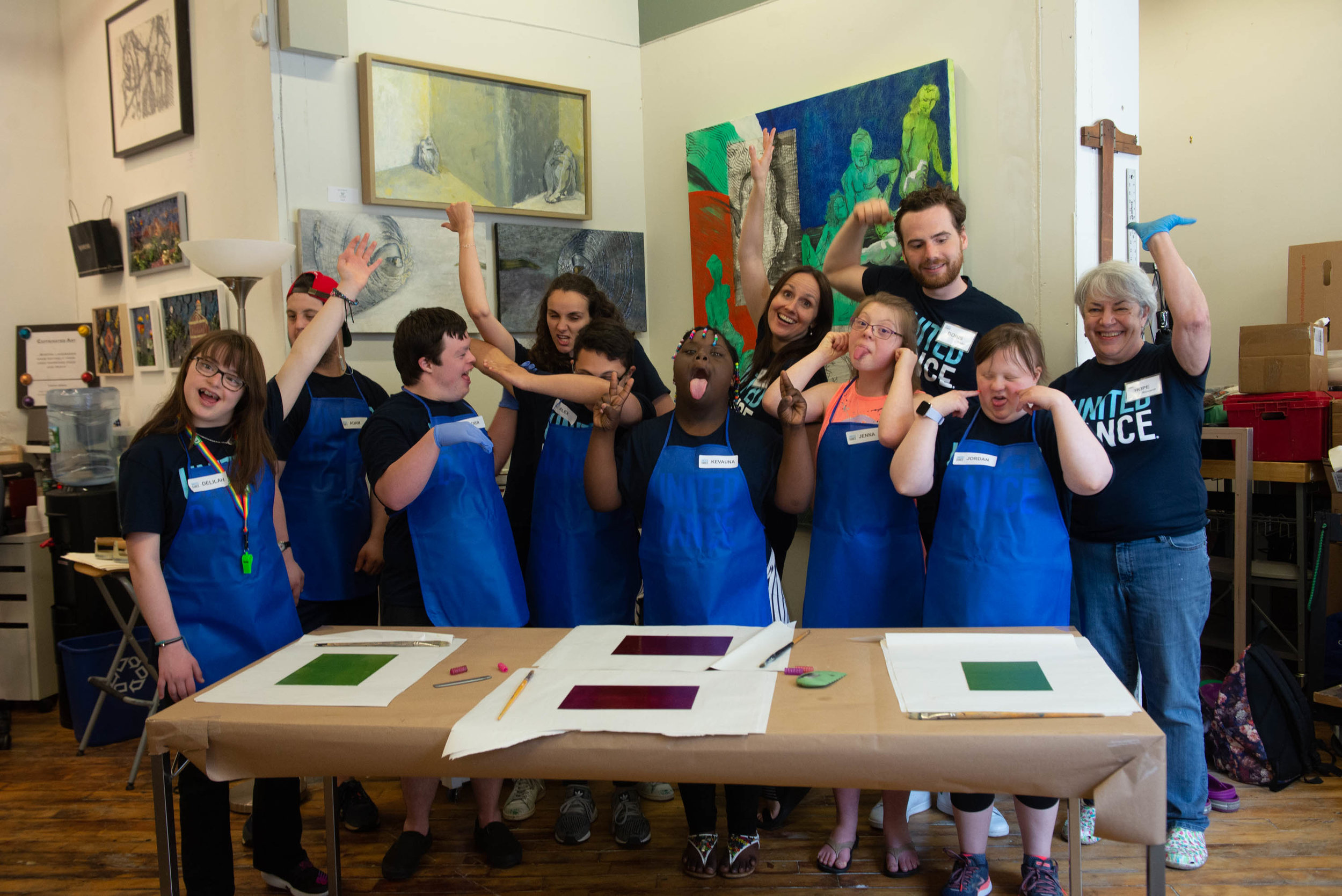 United Dance Art Course tailor made for youth and young adults with Down syndrome!