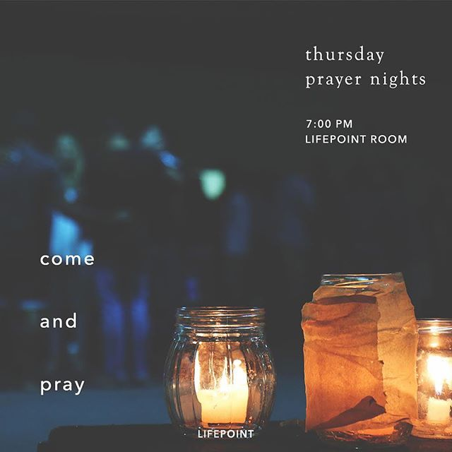 Thursday Night Prayer   Every 1st and 3rd Thursdays   7pm • This Thursday is our first July meeting. Let's come together to lift one another up in prayer 🙏 see you there, LP! #thursdayprayers #tkclp