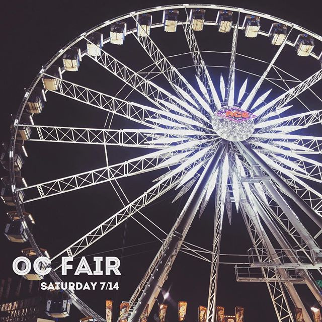 HEY LIFEPOINT SINGLES 👋 • Check your emails if you signed up to join us this Saturday at the OC Fair! We'll be carpooling from church to the Fullerton Park-and-Ride at 3pm, but meet us there if you don't need to carpool! If you signed up, Lifepoint will cover $10 cards for your fun and games! See you there! • OC Fairgrounds July 14, 2018 4:30-9:30