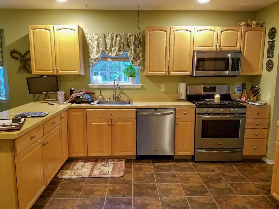 Country Kitchen Remodel Before