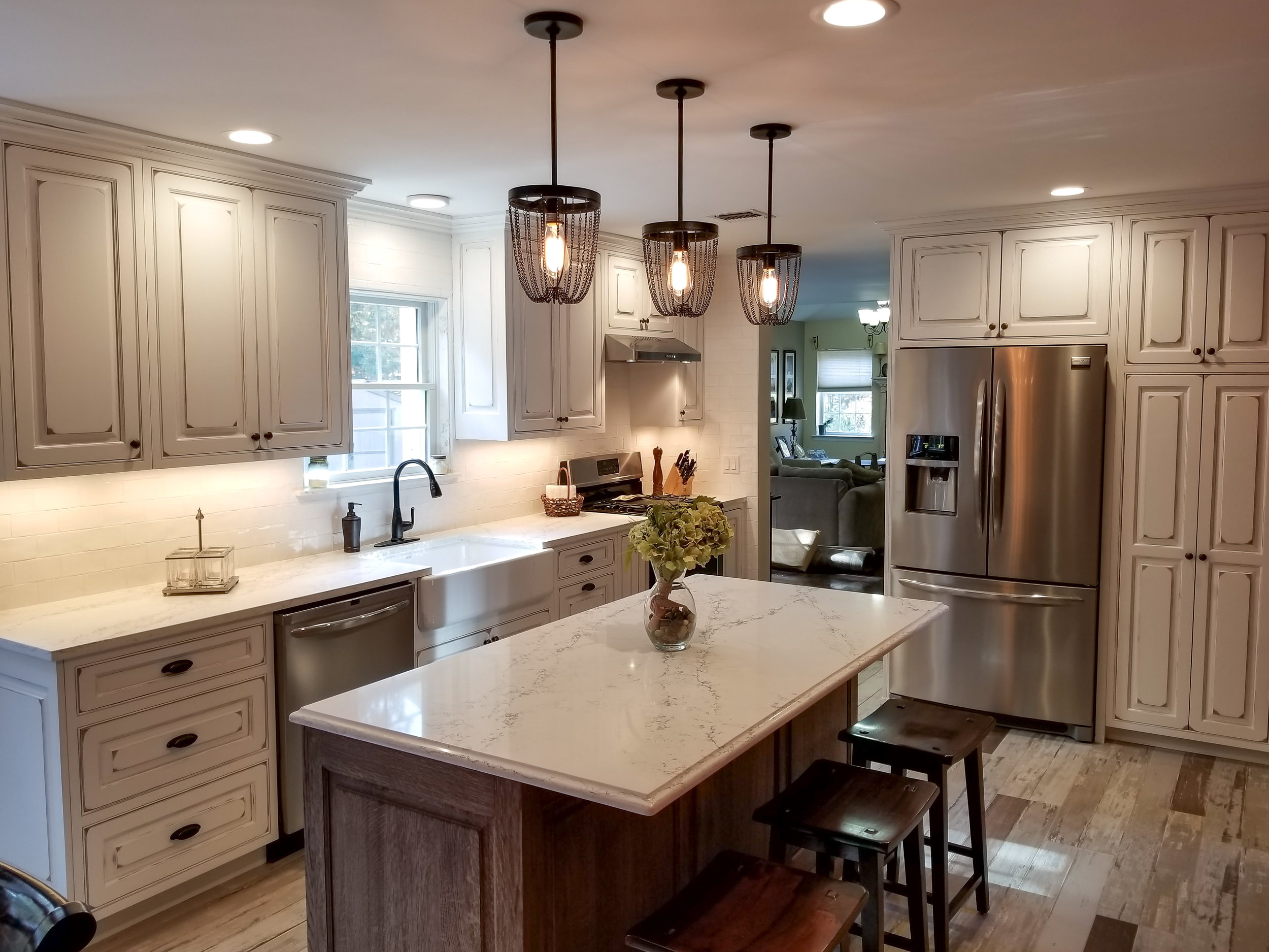 Country Kitchen Remodel After