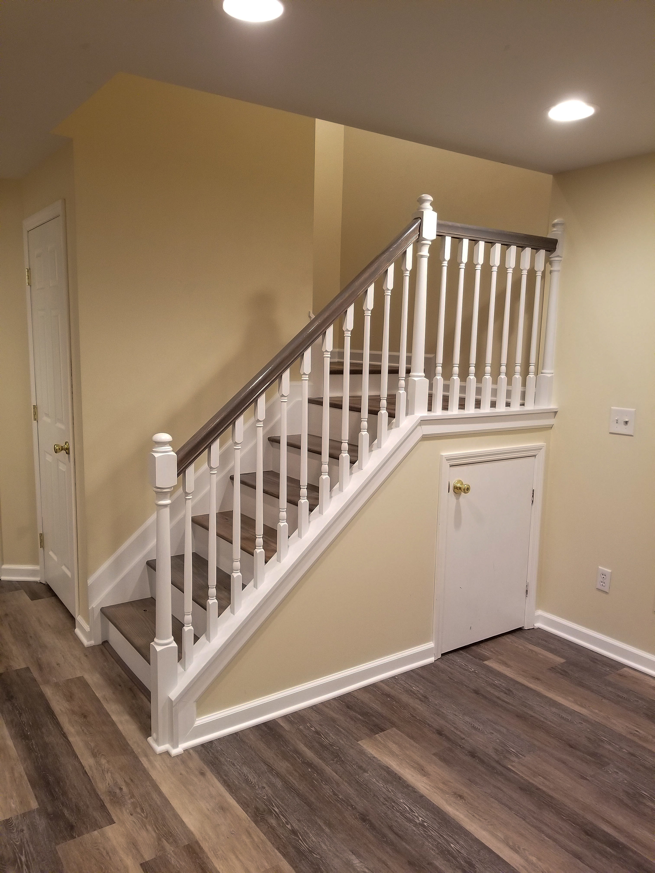 Staircase Refinish After