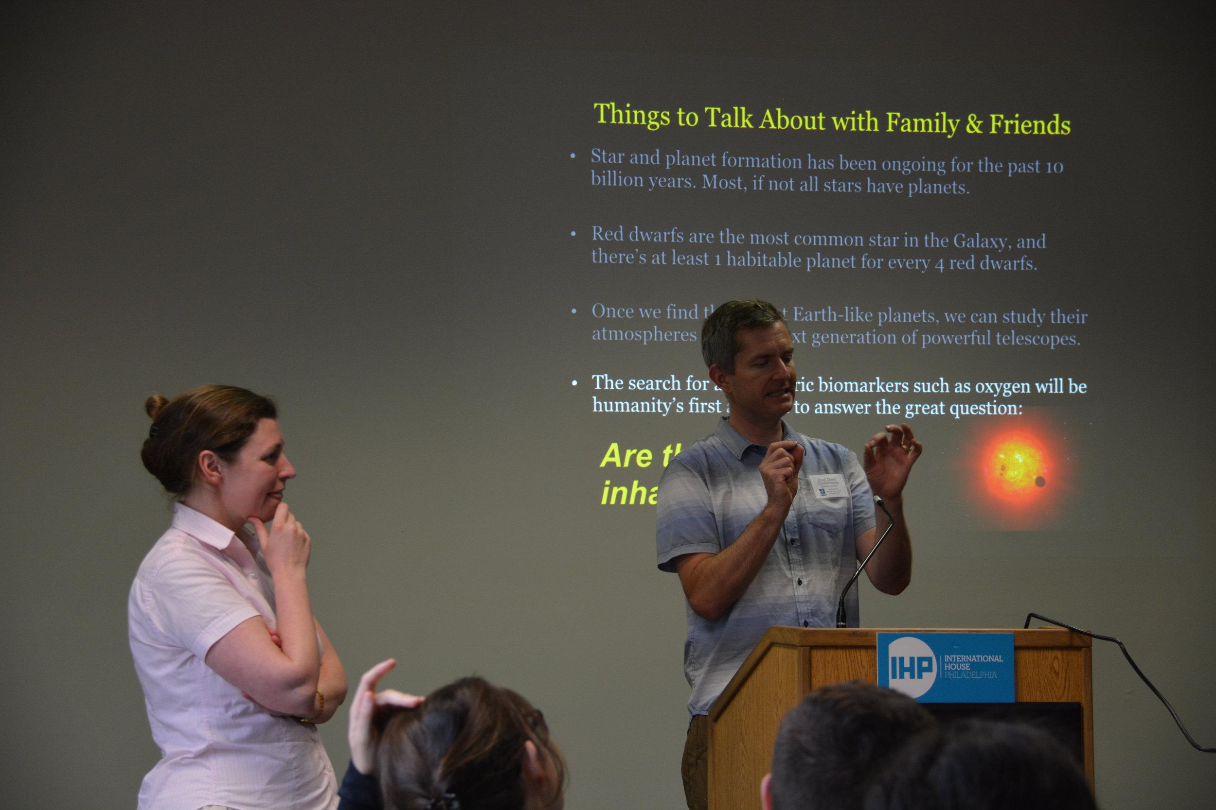 Professor David Charbonneau's talk on Exoplanets at Magi's 2018 summer seminar