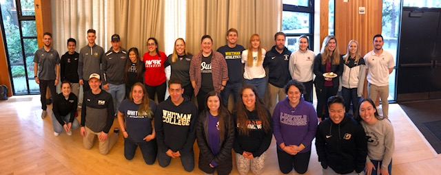 Northwest Conference SAAC Representatives & Out In Athletics Founder, Dr. Kayleigh McCauley