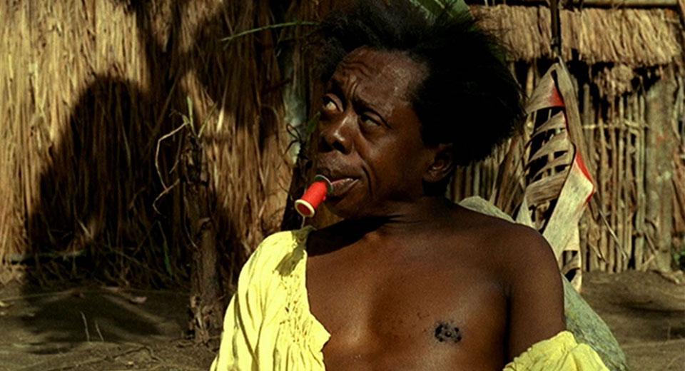 Grande Otelo as Black Macunaima in Joaquim Pedro de Andrade's  Macuinaima  (1969)
