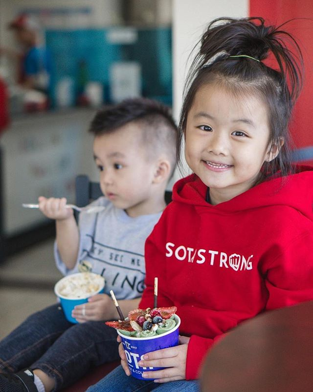 We love seeing kids and their family come through our shop. Creating a space for families to enjoy themselves is why we're here. - #sotahotandcold club is on!