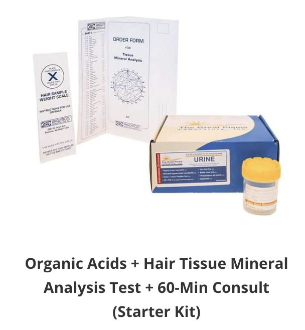 Organic acids Hair Tissue Mineral Analysis