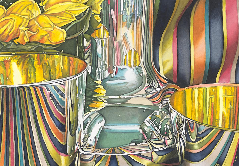 "Jeanette Pasin Sloan ,    Trine   (detail),   2019, archival pigment print, sh: 30"" x 22"", ed: 25, $1800."