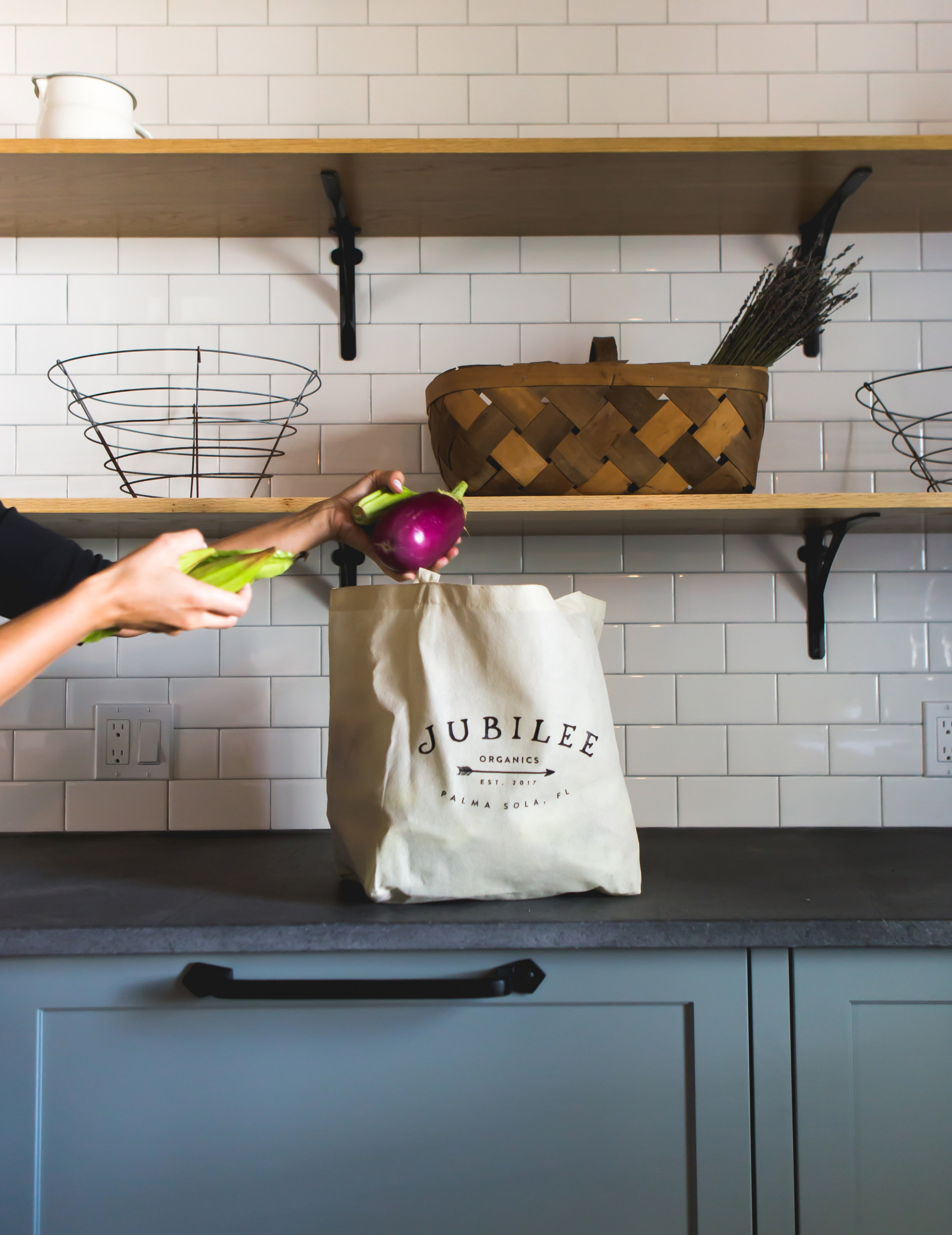 The Modern Farmhouse - The Modern Farmhouse sits on a working organic farm. For their kitchen, the clients wanted a space to accommodate such tasks as cleaning vegetables and preparing large quantities of food. Thus, we created the scullery, the primary prep space.