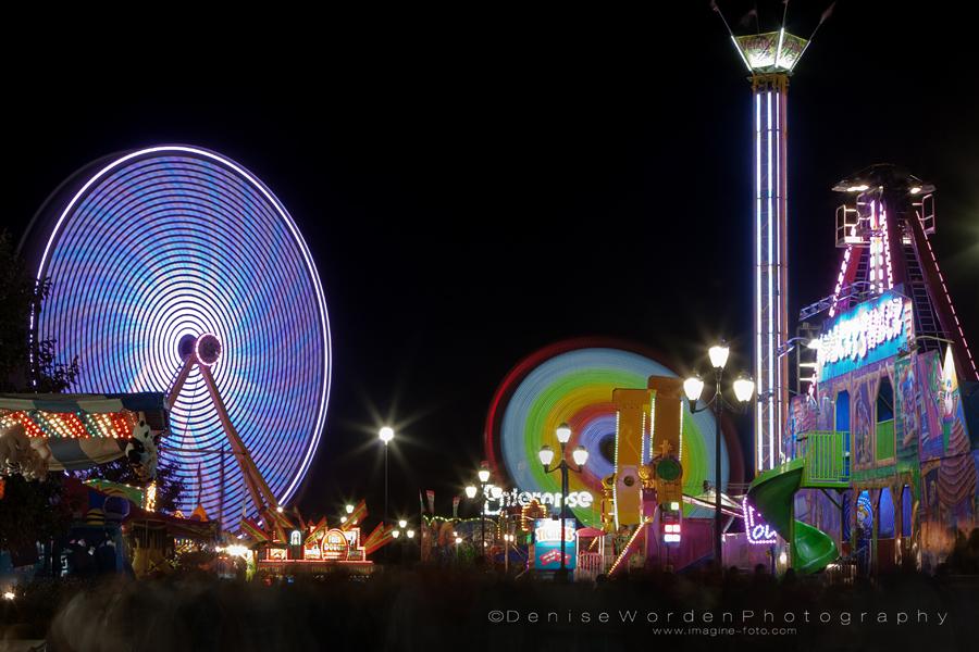 Midway Night Lights