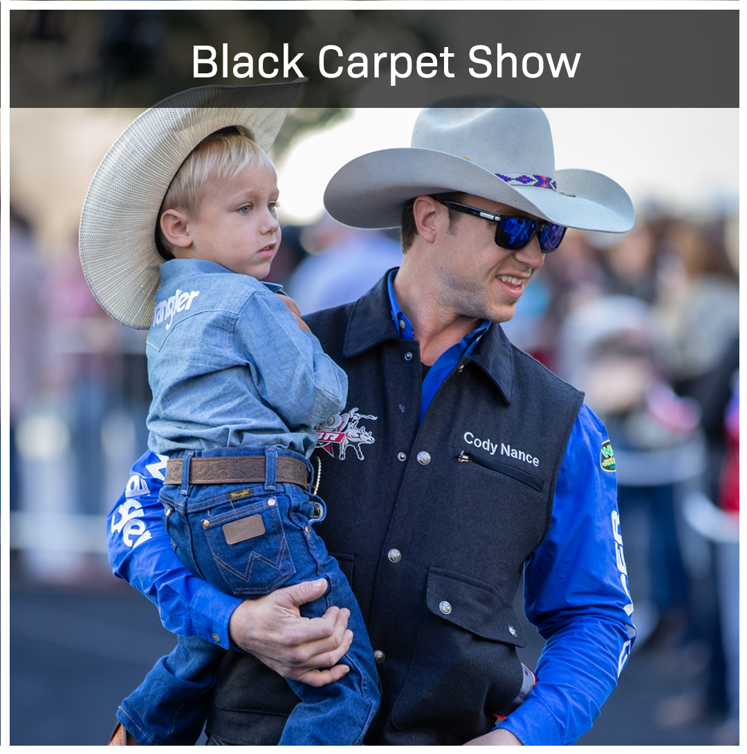 The Boys are Back in Town! The top 35 Bull Riders will make their way into T-Mobile down the Black Carpet.