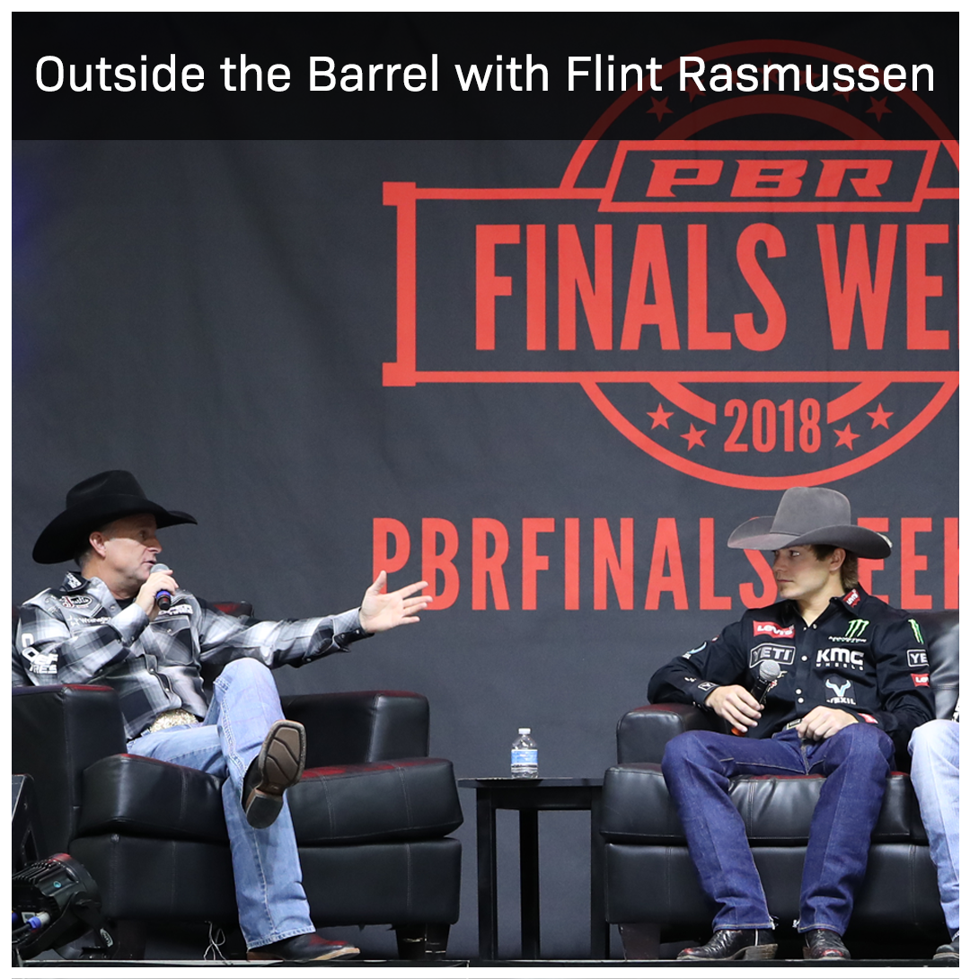 Official entertainer of the PBR, Flint Rasmussen, hosts the Top PBR cowboys and stock contractors to talk life inside and out of the arena.