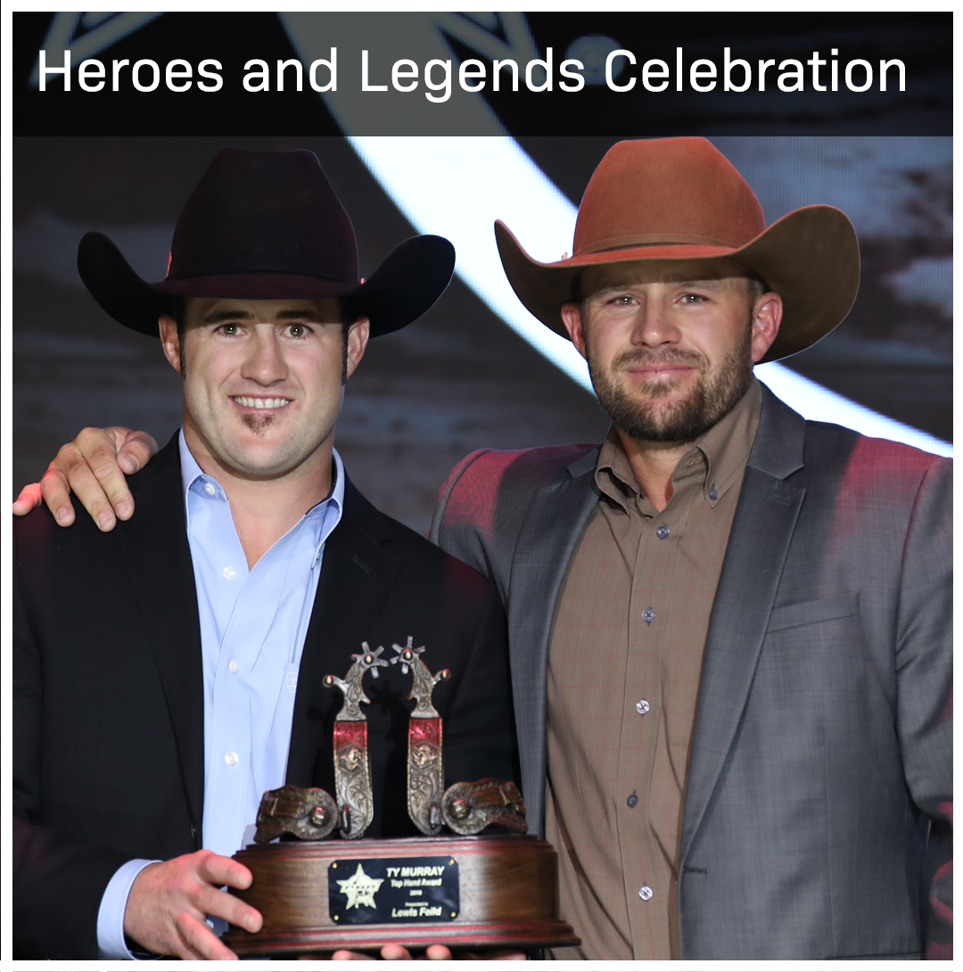Join us as we celebrate some big names in the PBR, including World Champion Guilherme Marchi.