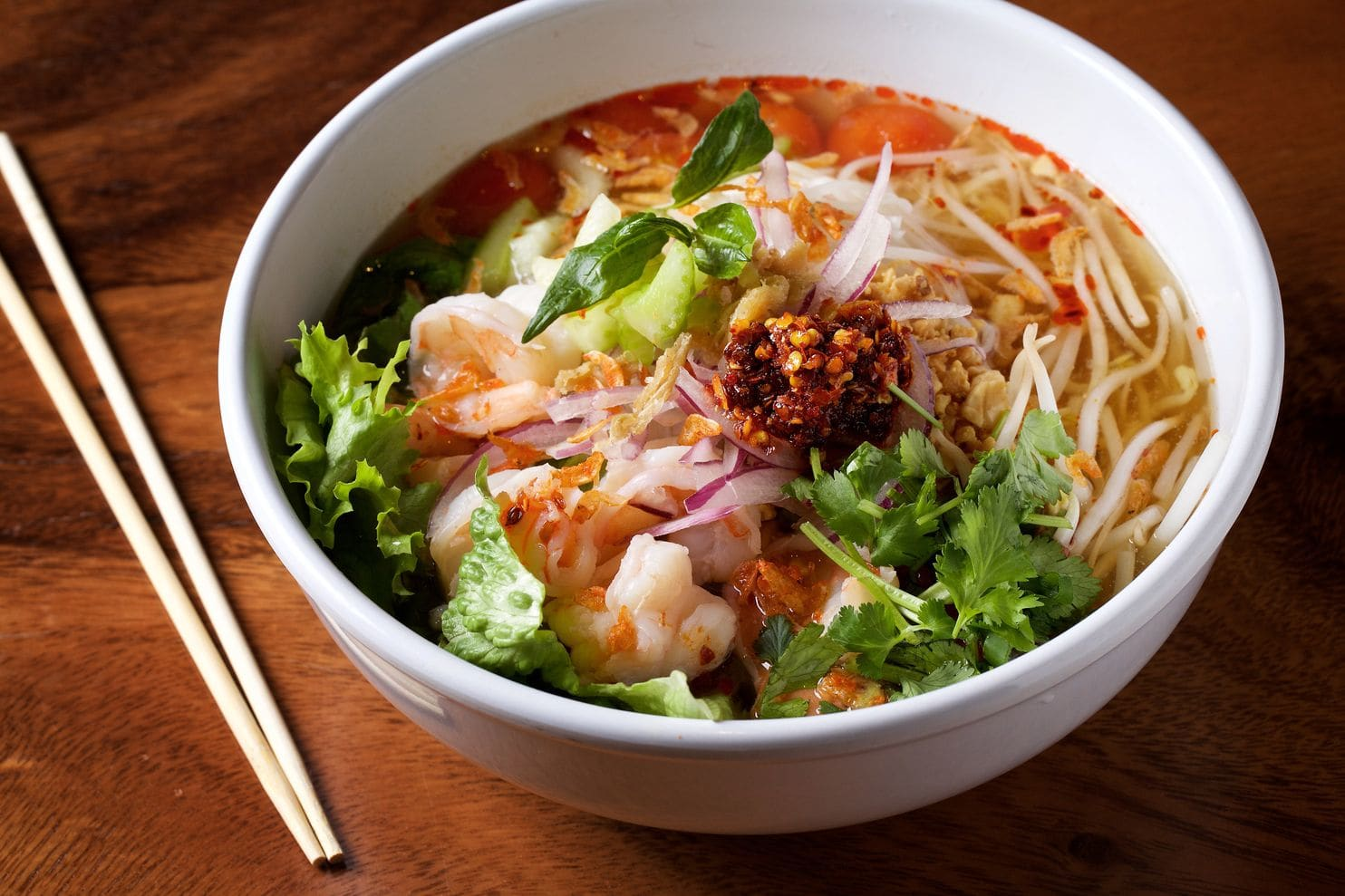 Pho Lao som at Sen Khao